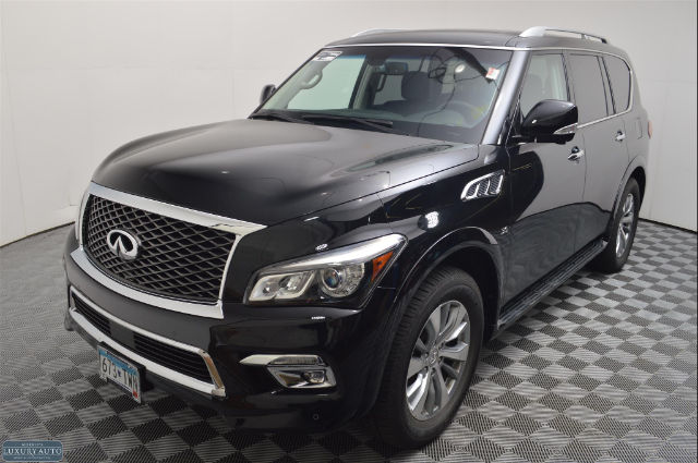 pre owned 2016 infiniti qx80 4wd 4dr suv in golden valley bu11465 morrie 39 s luxury auto. Black Bedroom Furniture Sets. Home Design Ideas